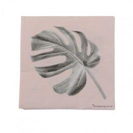 Papírové ubrousky Sooji, růžová barva, šedá barva, papír