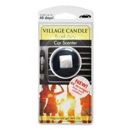 Vůně do auta s klipem Village Candle - Beach Party, černá barva