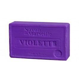 Francouzské mýdlo s vůní fialek Violette 100gr, fialová barva