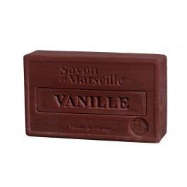 Francouzské mýdlo s vůní vanilky Vanille 100gr, hnědá barva