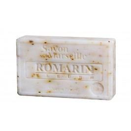 Francouzské mýdlo s vůní rozmarýnu Romarin 100gr, bílá barva
