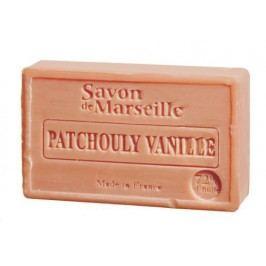 Francouzské mýdlo s vůní pačuli a vanilky 100gr, hnědá barva