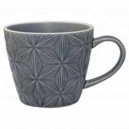 Keramický hrnek Kallia grey, šedá barva, keramika