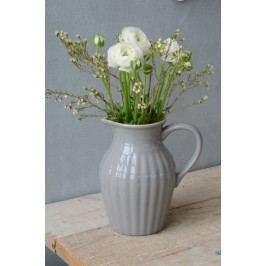 Džbán Mynte French Grey, šedá barva, keramika