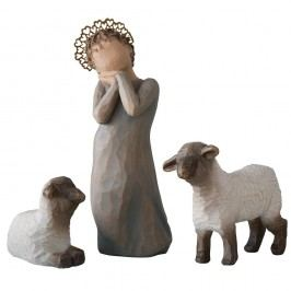 Malá pastýřka, šedá barva