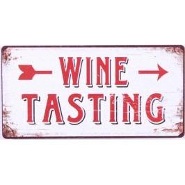 Wine tasting, bílá barva, kov