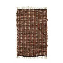 Prostírání Hazelnut Coffee, béžová barva, hnědá barva, textil, kůže