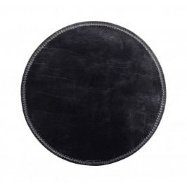 Prostírání Morocco black, černá barva, textil