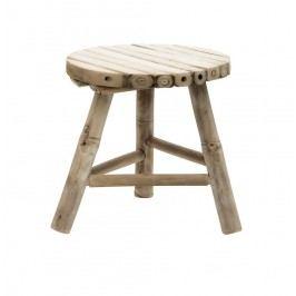 Bambusová stolička Vietnam - malá, béžová barva, dřevo