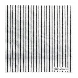 Papírové ubrousky Black - 50 ks, černá barva, papír