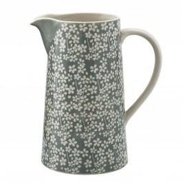 Keramický džbán Seeke Laurel 1,8 l, šedá barva, keramika
