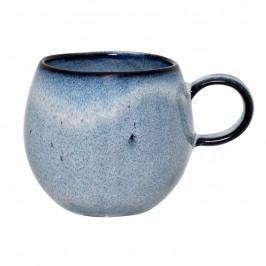 Keramický hrneček Sandrine Blue - menší, modrá barva, keramika