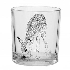 Dětská sklenička s kolouškem Fawn, čirá barva, sklo