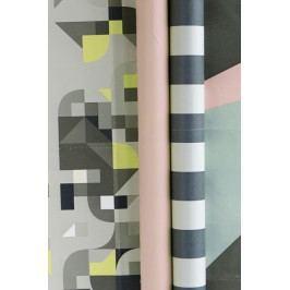 Balící papír Colours Růžový, multi barva, papír