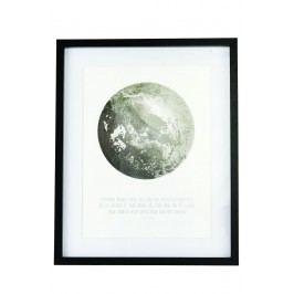 Obraz Moon 43x52, černá barva