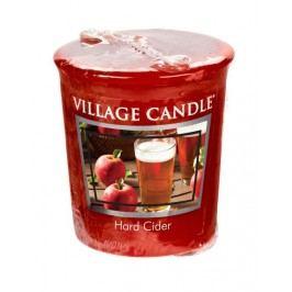 Votivní svíčka Village Candle - Hard Cider, červená barva, vosk