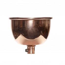 Kovová krytka k lustru Copper, měděná barva, kov