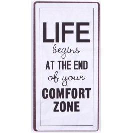La finesse Magnet Comfort Zone, bílá barva, kov