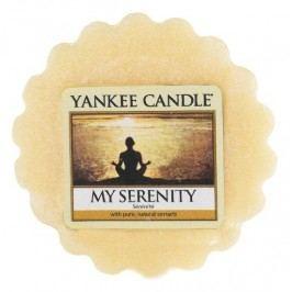 Yankee Candle Vosk do aromalampy Yankee Candle - My Serenity, žlutá barva, vosk