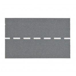 MADAM STOLTZ Designová samolepicí páska Road - široká, šedá barva, papír