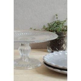 IB LAURSEN Dortový skleněný stojan 20 cm, čirá barva, sklo
