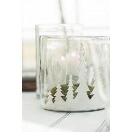 IB LAURSEN Papírová dekorace Forest, bílá barva, papír