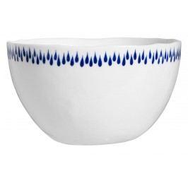 IB LAURSEN Porcelánová miska Delicate Blue, modrá barva, bílá barva, porcelán