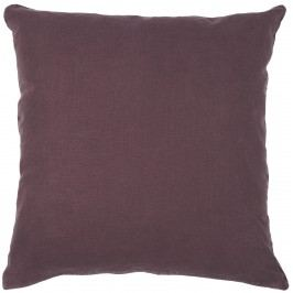 IB LAURSEN Povlak na polštář Aubergine 50x50cm, červená barva, fialová barva, textil