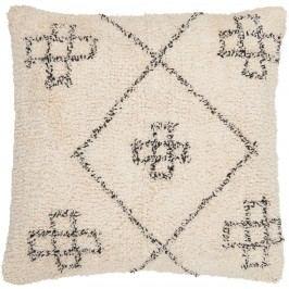 IB LAURSEN Povlak na polštář Deep-pile 50x50, béžová barva, krémová barva, textil
