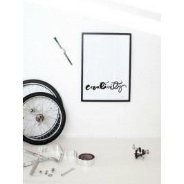 Ylva Skarp Plakát Creativity 40x50, černá barva, papír