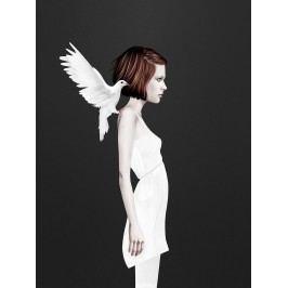 Ruben Ireland Grafický plakát Only You 50 x 70 cm, černá barva, bílá barva, hnědá barva, papír
