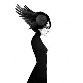 Ruben Ireland Grafický plakát Amy 50 x 70 cm, černá barva, papír