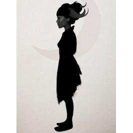 Ruben Ireland Grafický plakát Grace 50x70 cm, černá barva, bílá barva, papír