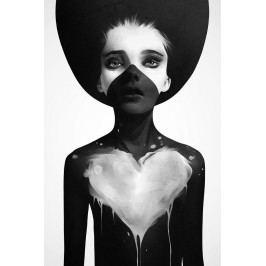 Ruben Ireland Grafický plakát Hold On 50x70 cm, černá barva, bílá barva, papír