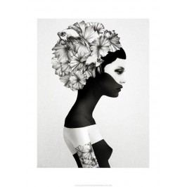 Ruben Ireland Grafický plakát Marianna 70x100 cm, černá barva, bílá barva, papír