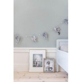 MRS. MIGHETTO Plakáty WILLIAM & NIGHT CAROUSEL - set 2 ks, šedá barva, papír