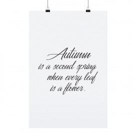 TAFELGUT Plakát Autumn 30x42 cm, černá barva, bílá barva, papír