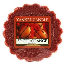 Yankee Candle Vosk do aromalampy Yankee Candle - Spiced Orange, oranžová barva, hnědá barva, vosk
