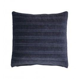 Krasilnikoff Sametový povlak na polštář Dark Blue 50x50, modrá barva, textil