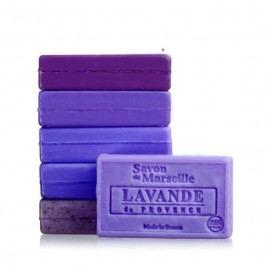 LE CHATELARD Marseillské mýdlo 100 g - levandule z Provence, fialová barva