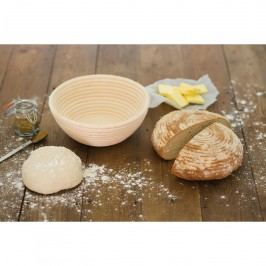 Kitchen Craft Ošatka na chléb Round, béžová barva, proutí