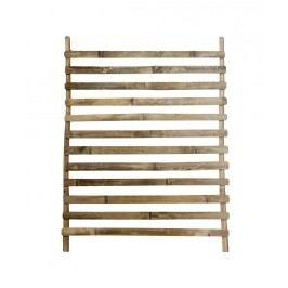 Tine K Home Dekorativní bambusový žebřík Vietnam, hnědá barva, dřevo