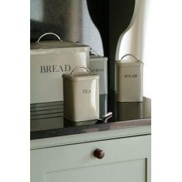Garden Trading Plechová dóza Tea - clay, béžová barva, kov