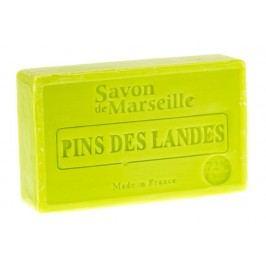 LE CHATELARD Francouzské mýdlo s vůní borovice 100gr, zelená barva