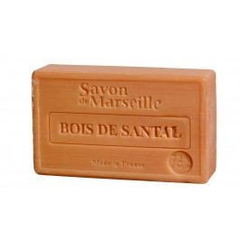 LE CHATELARD Francouzské mýdlo s vůní santalového dřeva 100gr, hnědá barva