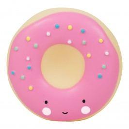 A Little Lovely Company Pokladnička Pink Donut, růžová barva, plast
