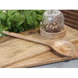 Chic Antique Dřevěná lžíce Mango Wood, hnědá barva, dřevo