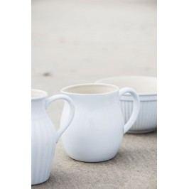 IB LAURSEN Džbán Mynte Pure White 2,5 l, bílá barva, keramika
