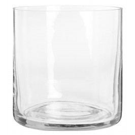 IB LAURSEN Průhledný svícen Glass, čirá barva, sklo