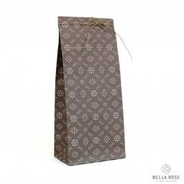 IB LAURSEN Papírový sáček Milky brown S, hnědá barva, papír